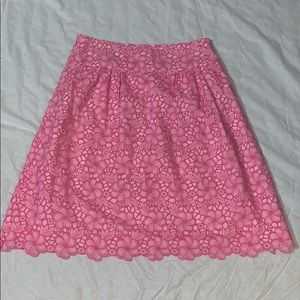 Lilly Pulitzer flower skirt, great used condition